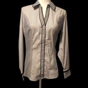 Express Pinstripe The Essential Button Down Shirt